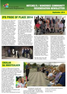 Newsletter Sept 2014